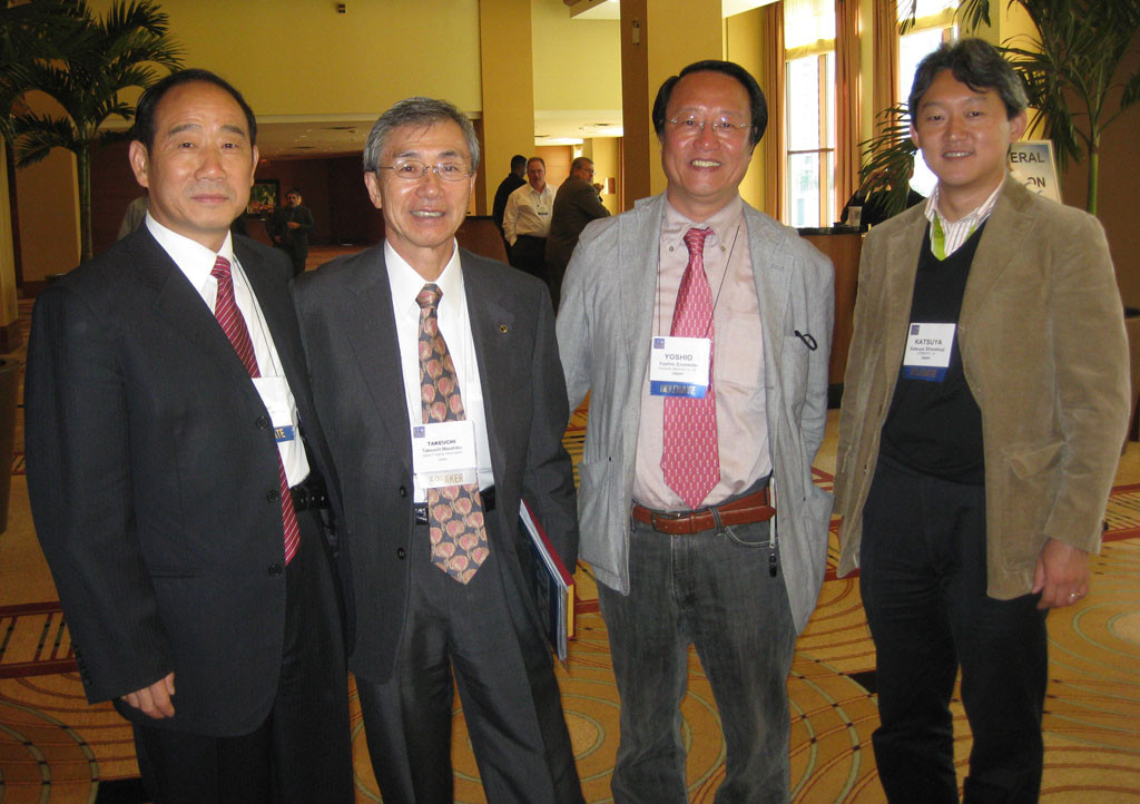 Chairman attend the forging congress in Japan