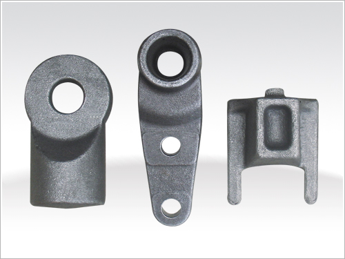 Auto parts forged by  CNC Programmable forging hammer