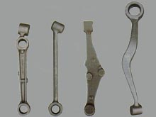Control Arm forged by Hydraulic double-acting hammer