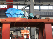 hydraulic-mechanical forging manipulator assembly