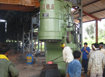 Anyang 2t C-type Power forging hammer in India