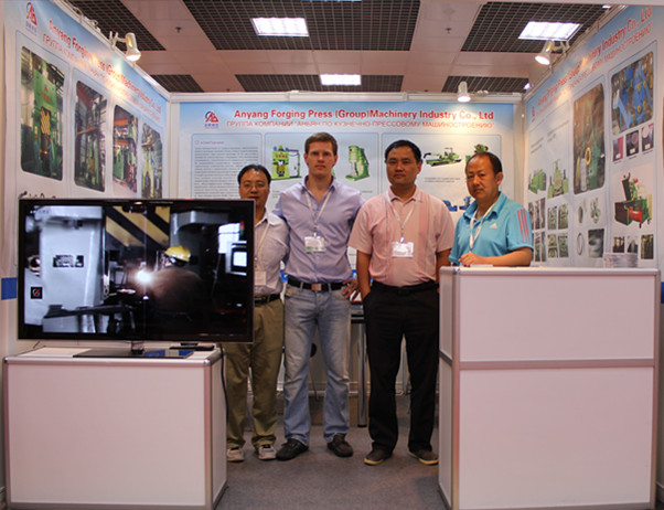 We attend the exhibition in Russia