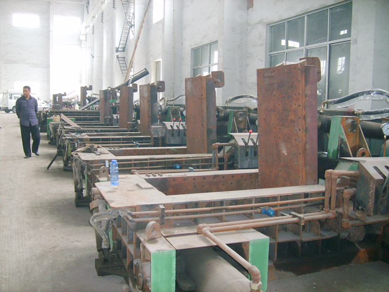 metal scrap baling machine assembly