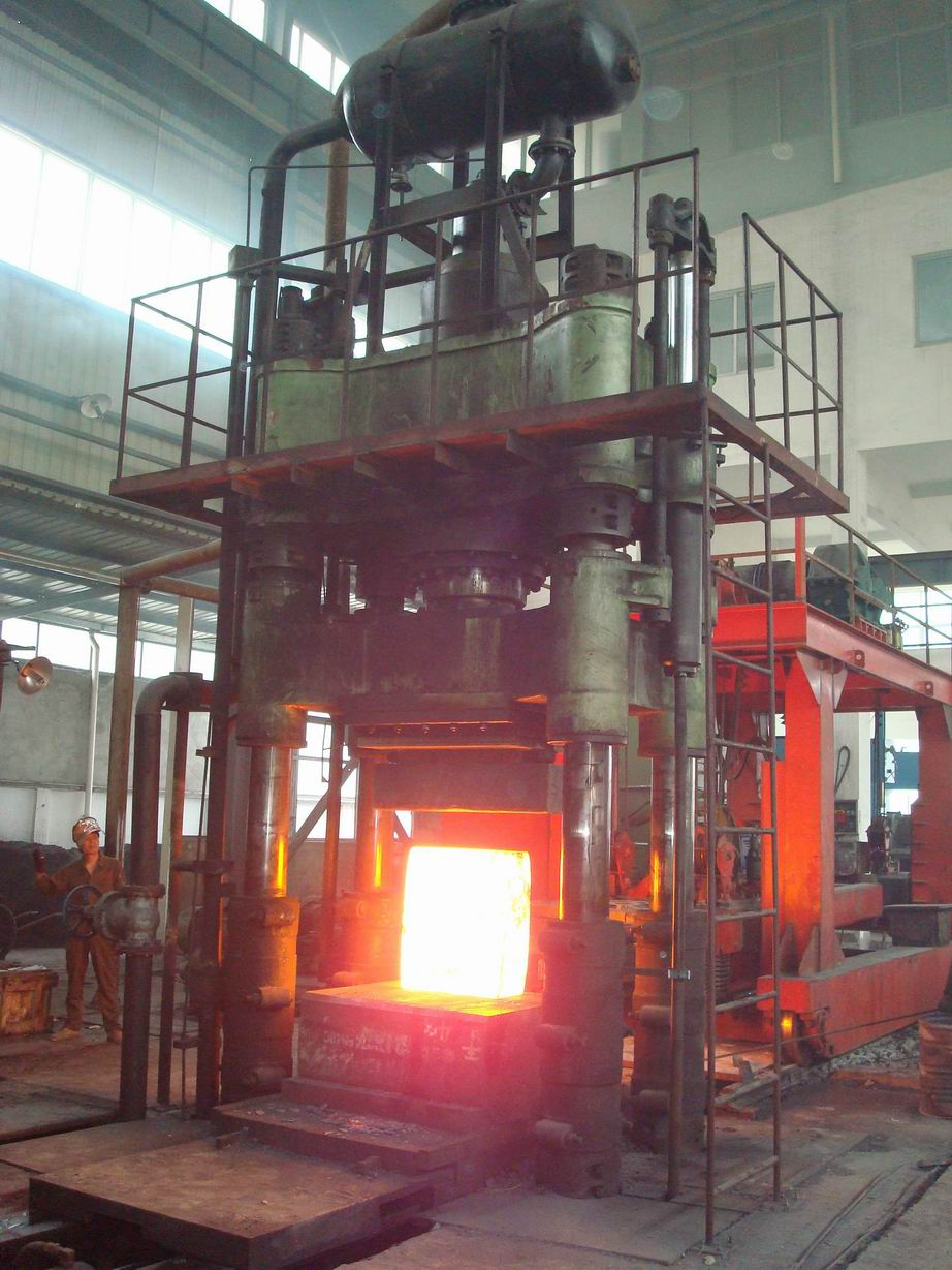 Hydraulic Open Die Forging Press Forging Hammer For