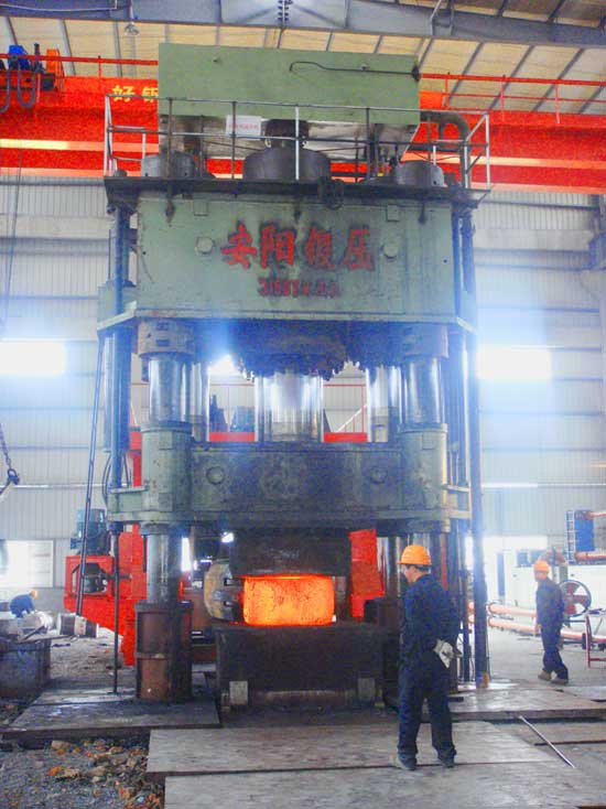 3150 ton Hydraulic piercing and drawing press