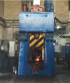 31.5KJ CNC hammer exported to Turkey
