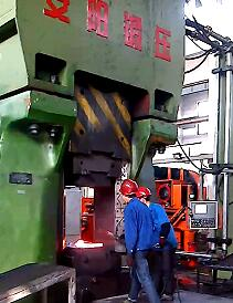 125kj Hydrualic closed die forging machines forge rock arm video