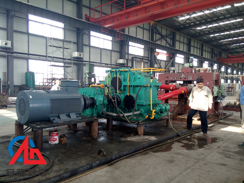 100mm skew rolling miller for steel balls For customer test in Anyang