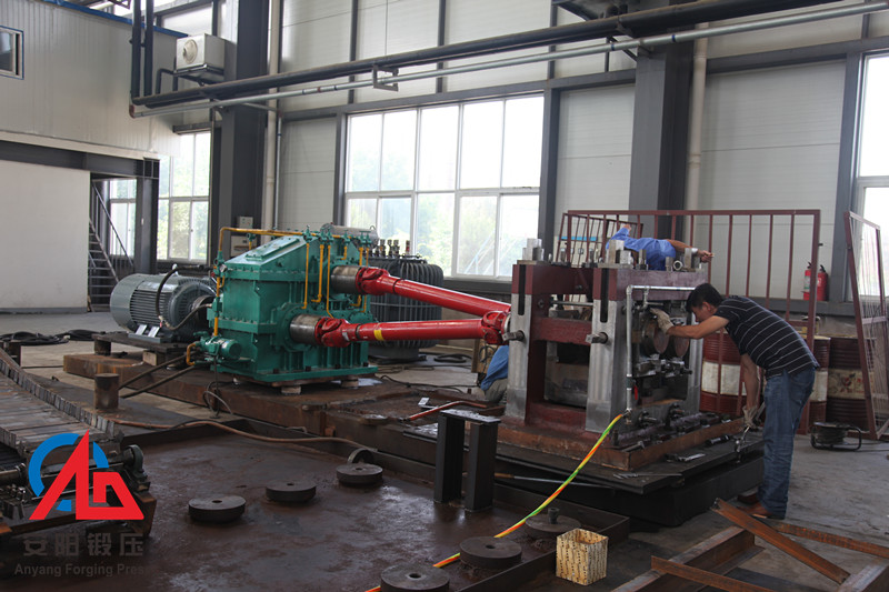60mm grinding media balls hot rolled skew rolling production line assembly
