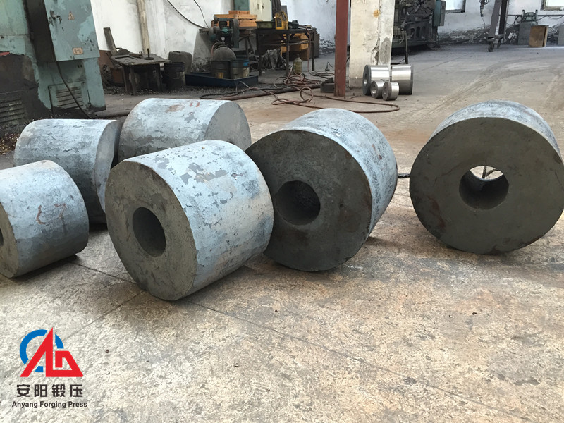 grinding media steel ball rolling die forged blank