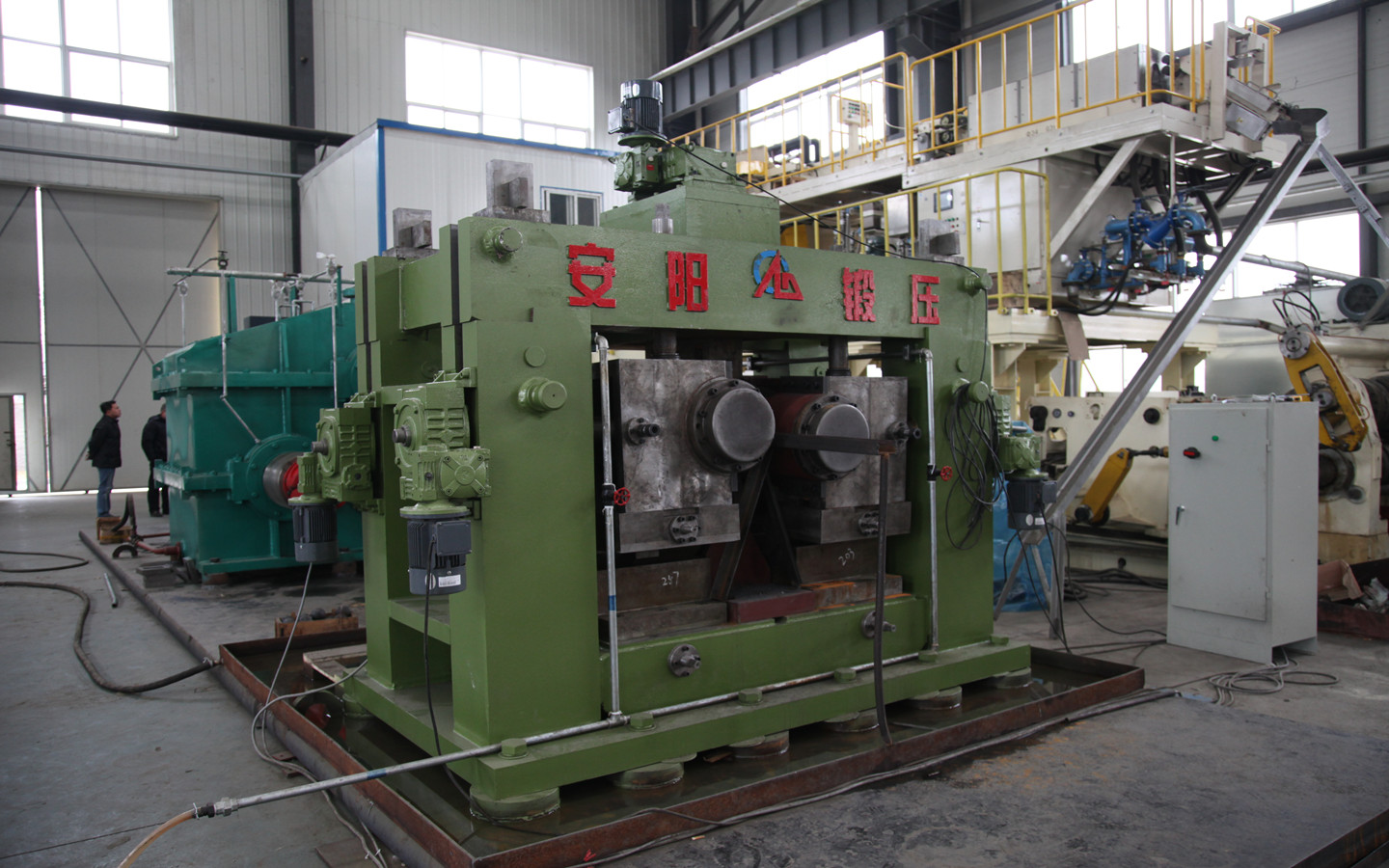 grinding steel ball rolling mill