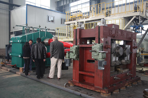 steel ball skew rolling mill