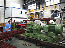 Grinding Steel Ball Rolling Machine Assembly