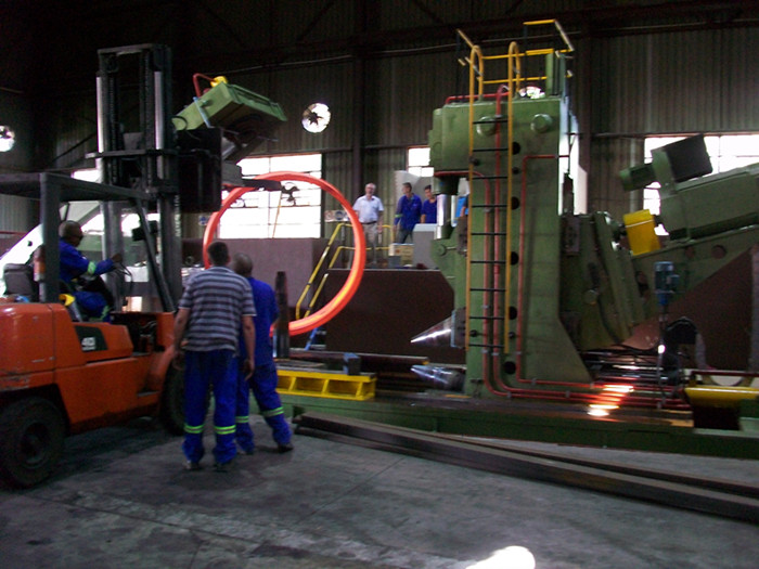 Full Automatic Ring Rolling Mill in South Africa