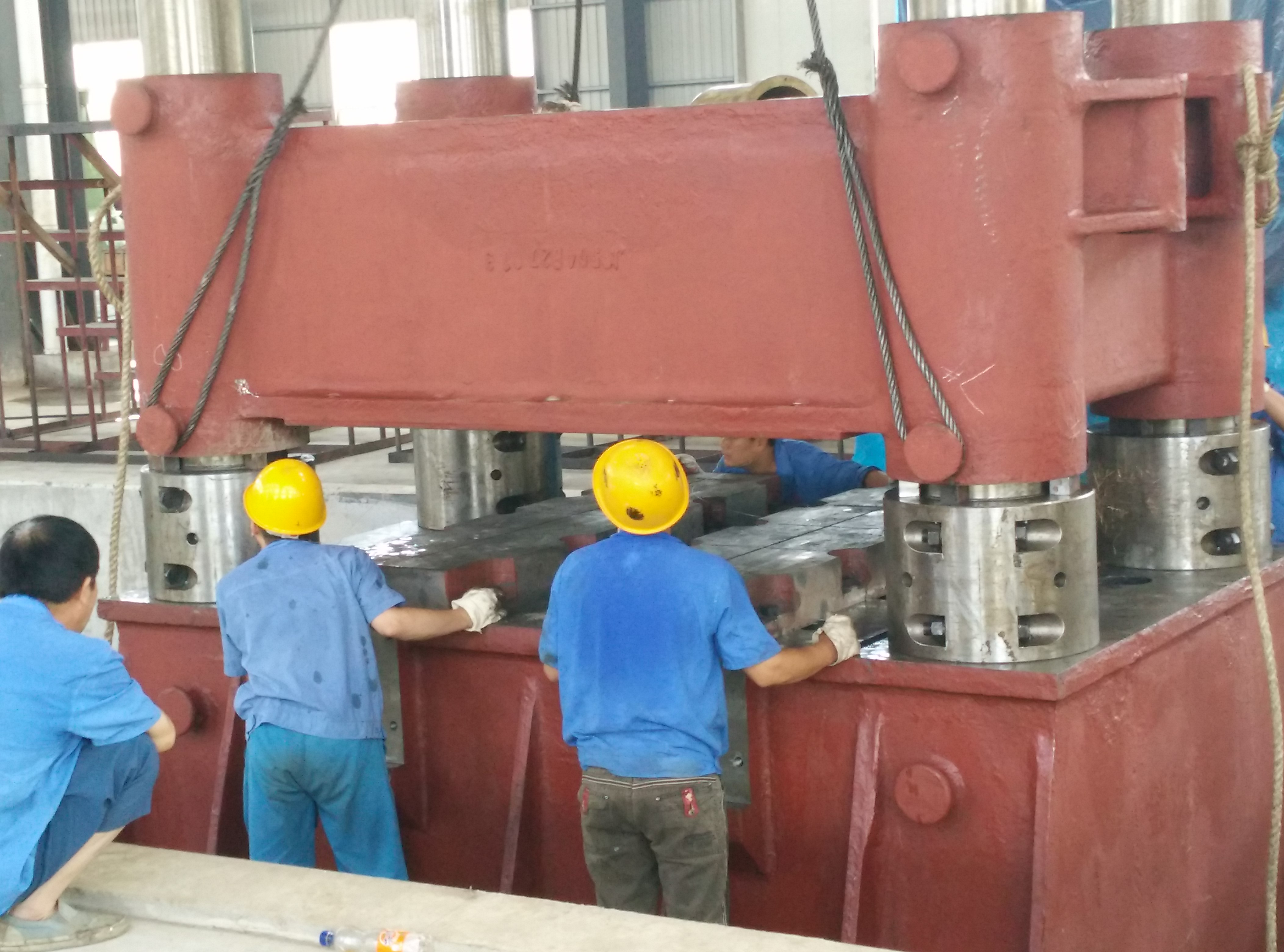 Hydraulic free forging presses