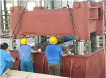 Hot Hydraulic Free Forging Press Assembly