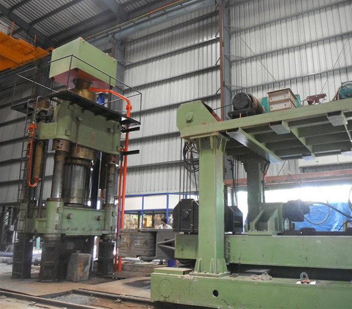 1250t Steel forging hydraulic open die forging press in South Africa