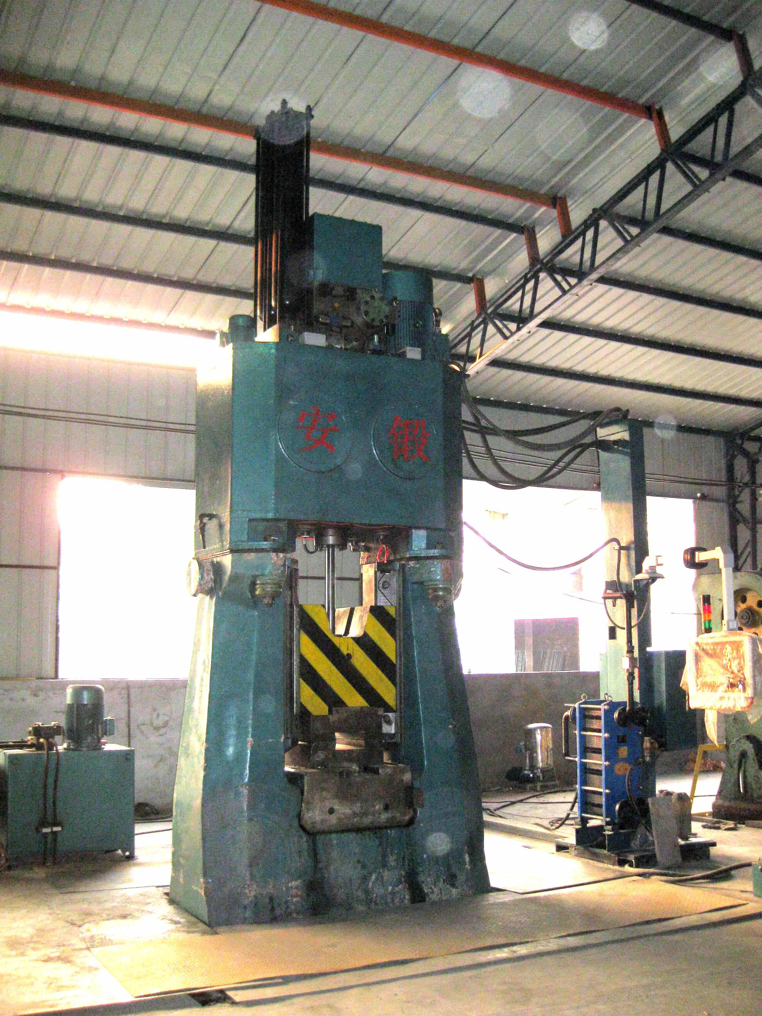 25kj PLC Hydraulic forging hammer in China