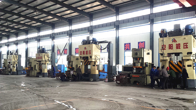 4 sets Program-controlled hydraulic die forging hammer forging production line