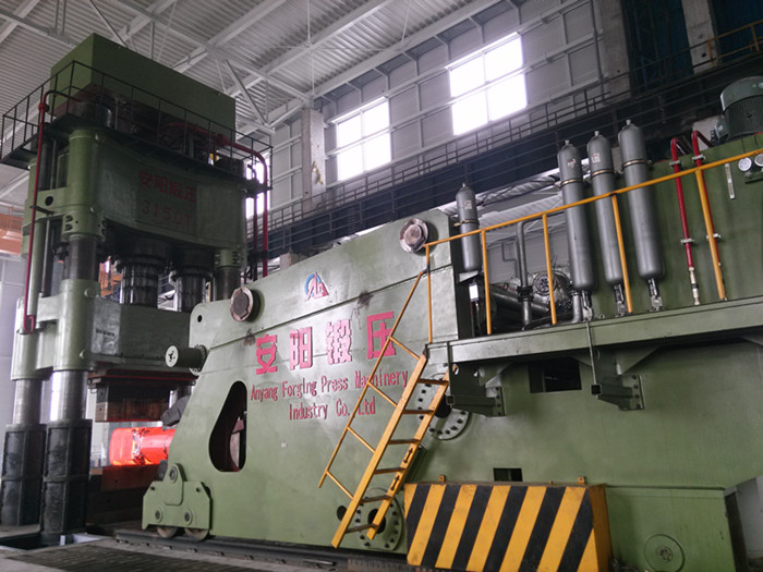 3150t Open-die forging press and 30t fully hydraulic forging manipulator in Romania