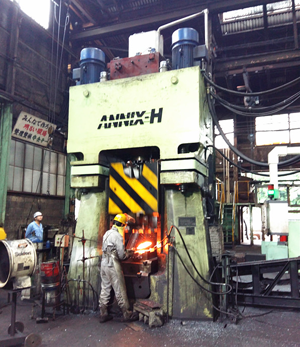 63kj CNC Double-Active forging hammer in Japan