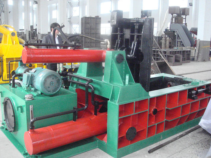 Y81-130 hydraulic metal scrap baling machine
