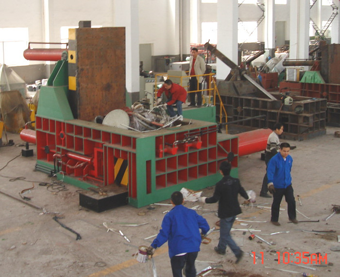 Y81-250 metal scrap hydraulic baling press machine