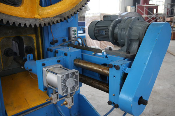 round bar billet shear unloading system assembly