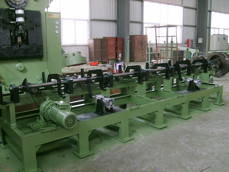 hydraulic billet shearing machine line automatic feeding system