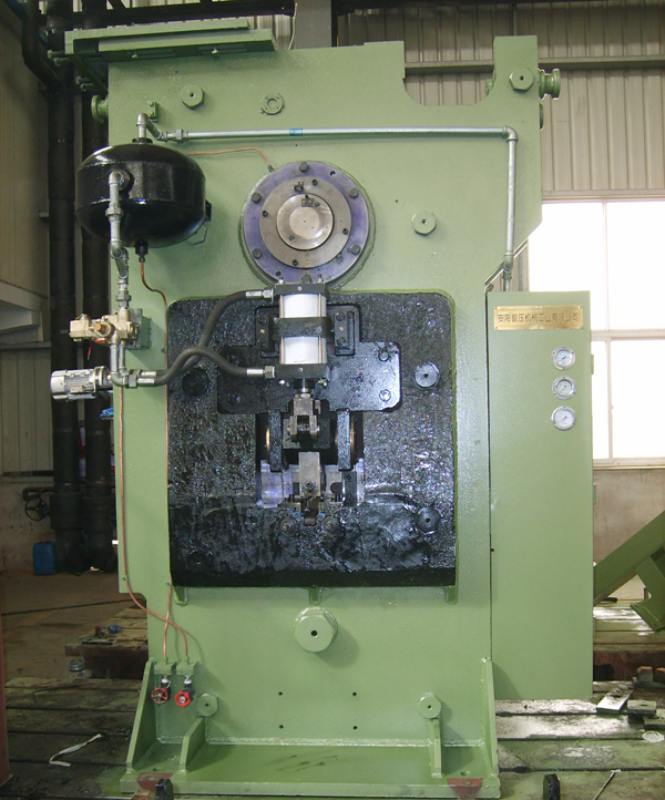 Q42-500 automatic billet precision cutting machine assembly
