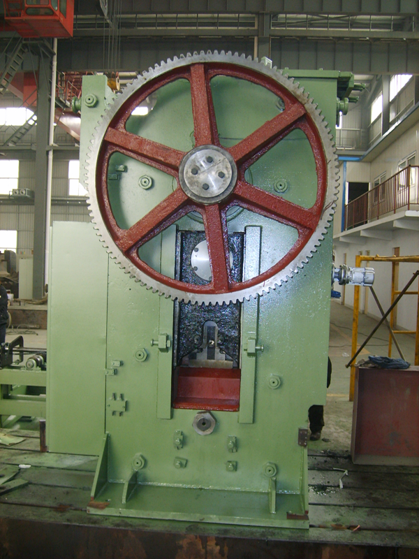 500t shearing machine for steel bar assembly