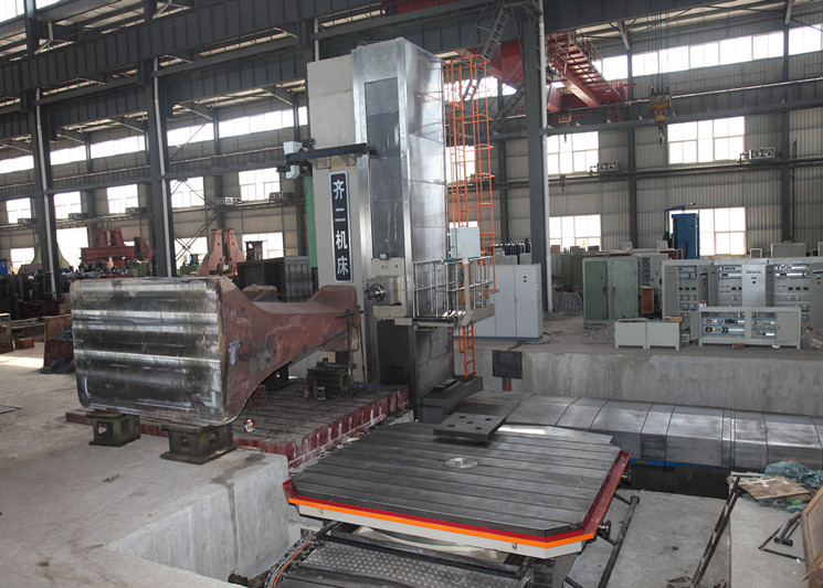 cnc forging hammer frame machining