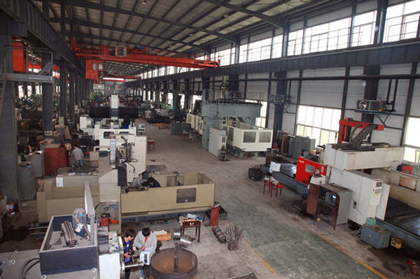 CNC forging hammer parts machining workshop