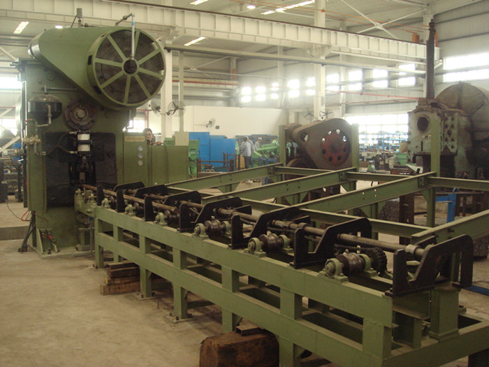 Q42-500 round bar shearing machine line