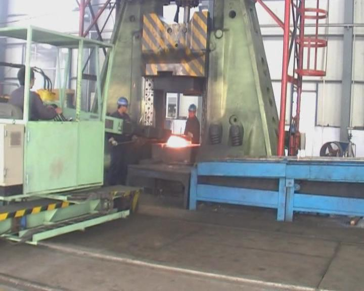 16 ton closed die forging hammer