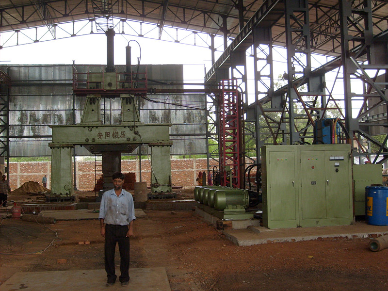 6 ton Bridge type hydraulic open die forging hammer in India