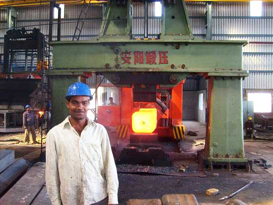 5t Open die hydraulic hammer in India