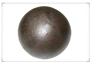 steel ball formed on Steel ball press machine rolling production line