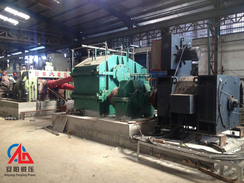 120mm Grinding steel ball skew rolling machine production line in Indonesia