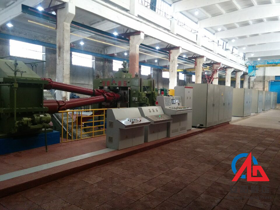 120mm Hot-rolled skew rolling miller for grinding steel ball production line in Armania