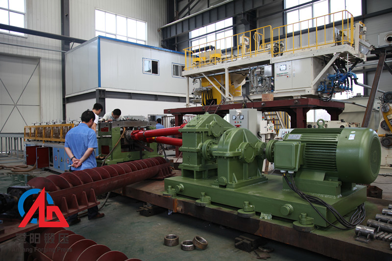50mm skew rolling machine for hot rolled steel ball assembly in workshop