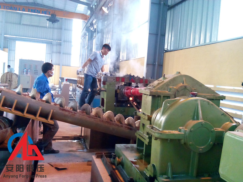 50mm Grinding ball forming machine rolling production line  in Vietnam