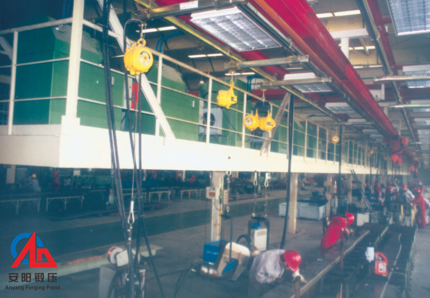 automatic brake riveting machine line in Henan Zhongzhou